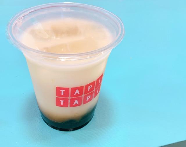 TAPITAPI (タピタピ)アピタ富山東店でタピオカミルクティ飲んでみた♪モチモチタピオカにハマる~夢かわスポットだけど子連れでインスタ映えを狙うのは無謀だったよ