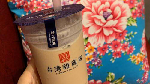 台湾甜商店 ファボーレ富山店でタピオカ&綜合豆花(トーファー) 平日ランチ後に30分並んできました
