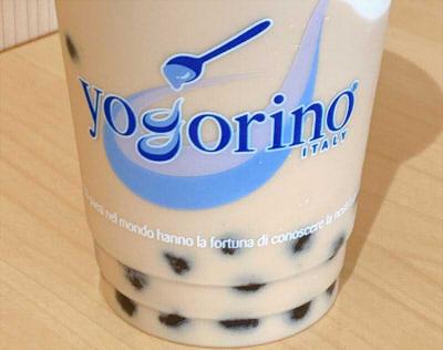 ヨゴリーノyogorinoのタピオカミルクティ飲んでみた!滑らかジェラートトッピング追加で「ならでは」の味に♪