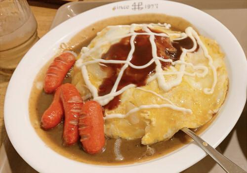 老舗カレー専門店 かれー屋伊藤で子連れ夜ごはん 名物「やさたま」と目玉焼きカレー