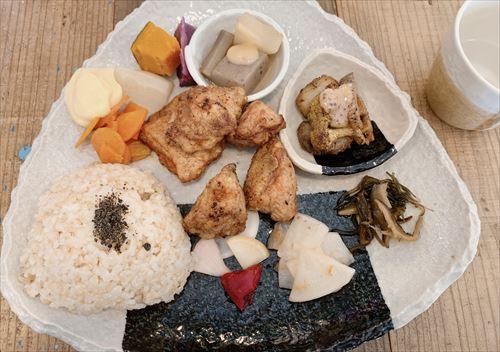 豆こ食堂やむなしで子連れランチ富山市大泉のベジタリアン・ヴィーガンOKな無添加オーガニックカフェ