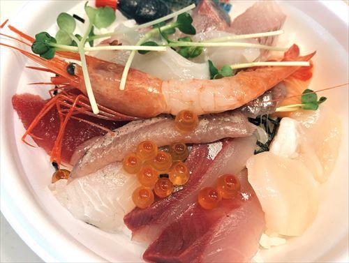 黒崎屋まかない海鮮丼