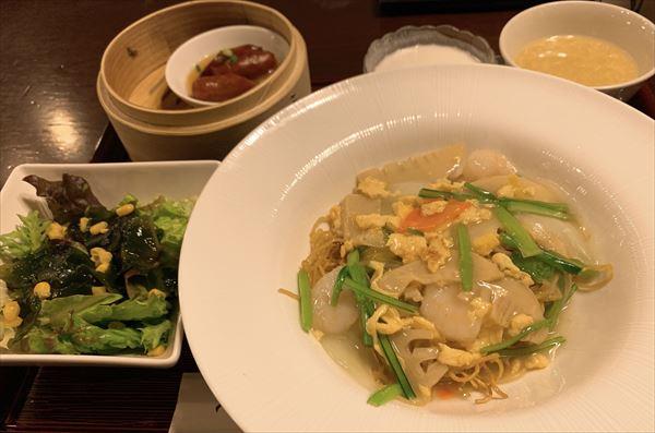 白楽天 営業終了間近の富山第一ホテルの中国料理店で平日ランチ