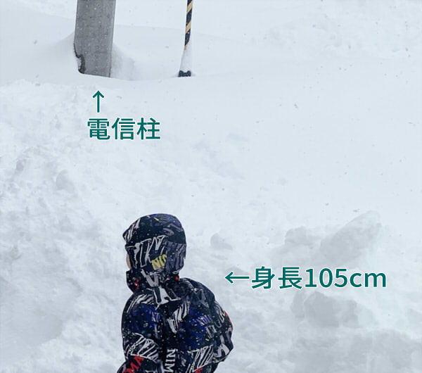 富山の大雪2021