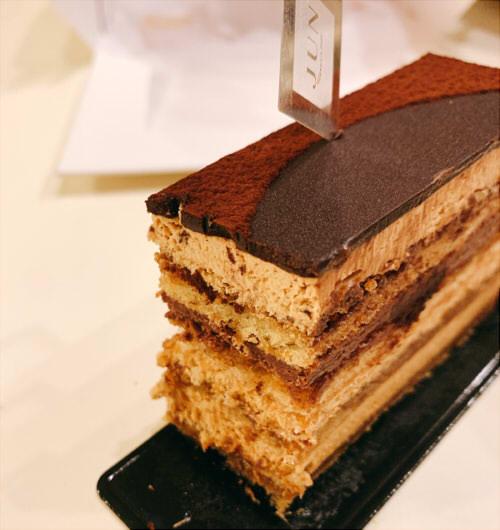 ラ・メゾン ド ジュン~バレンタイン近くはチョコレートケーキ大量発生中!