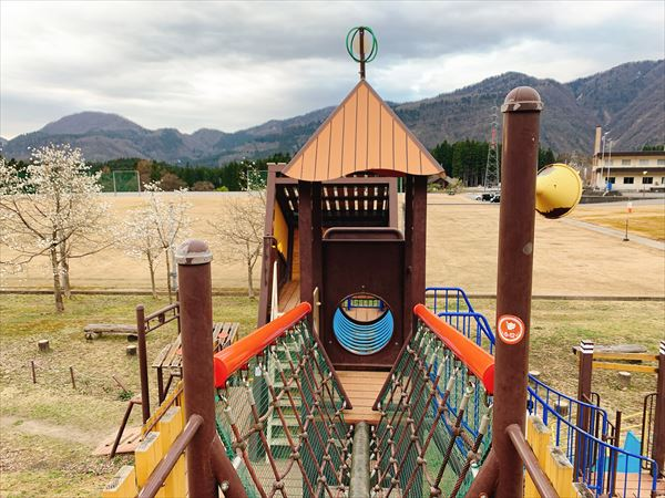 富山市公園アスレチック