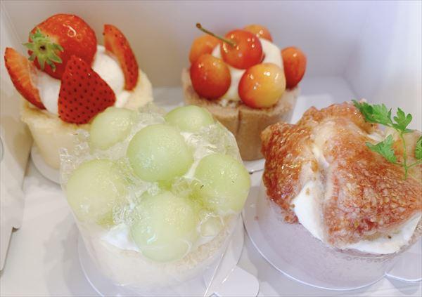 ル・パティシエ・ジュン新作 季節のロールケーキ3種食べてみた【富山市町村】